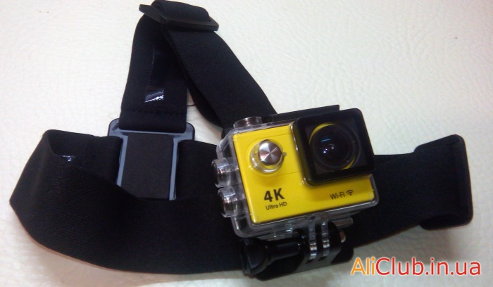 Sports, recreation, tourism: Overview of quality mounting head for GoPro action cameras, Eken H9, SJ4000 and similar