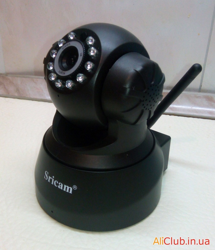 electronics: a Review-driven on-line WiFi camera recorder Sricam SP005 regime night vision