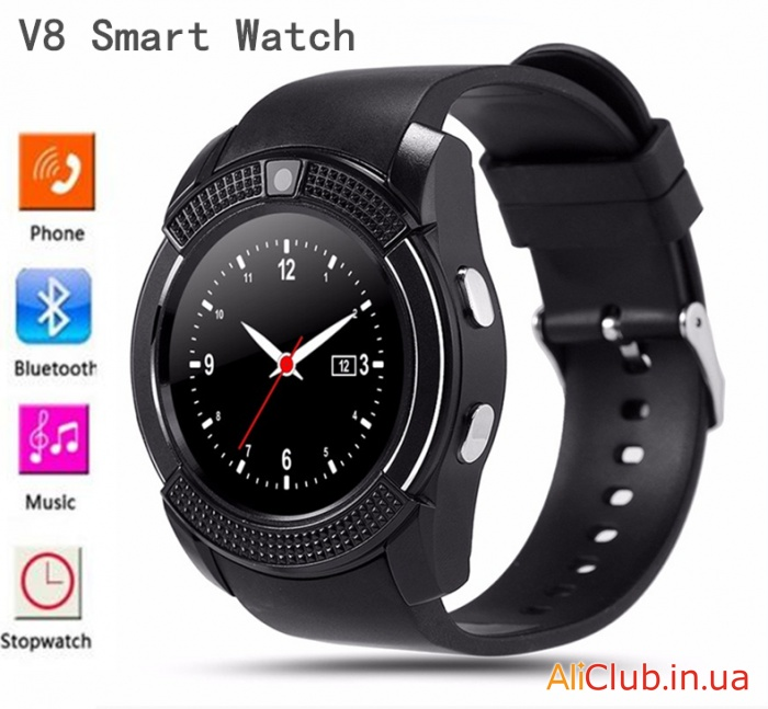 Watches and accessories: Cheap smart watch phone with round display smart watch V8 N20